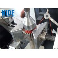 Buy cheap Semi - Auto Armature Coil Winding Machine For Slot Motor Wire Winding product