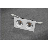 Buy cheap Square LED ceiling lights with  double venture,180 degree rotating structure, 2*7w from wholesalers