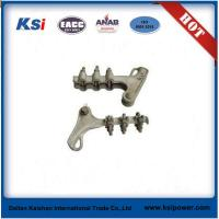 Buy cheap Electric Power Line ACSR ADSS Fittings / Aluminium Alloy Wedge Type Strain Clamp product