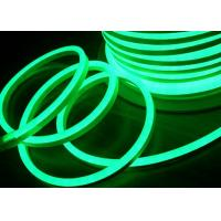 China Green Flexible Led Neon Rope Light , Waterproof Flexible Led Rope Light on sale