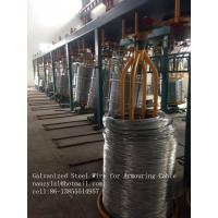 Buy cheap Hot Dip Galvanized Low Carbon Steel Wire For Armouring Cable Wire Mesh product