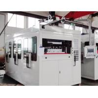 China Servo Motor Plastic Thermoforming Machine PLC Touch Screen Square Steel Structure on sale