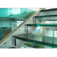 Buy cheap Double Glazed Window Laminated Safety Glass Panels 4.38mm Annealed Security product