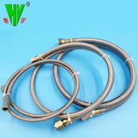 Buy cheap SAE100 R14 Teflon stainless steel braided corrugated hoses product