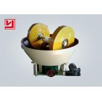 Buy cheap Vertical Ore Dressing Equipment Wet Pan Mill 1t/H Gold Grinding Mill product