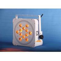 China 12 x 18w  UV 6 in 1 Battery Spot Light Long Life For Wedding / Store on sale