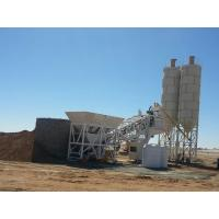 Buy cheap YHZS75 Full Automatically Concrete Batching Plant Mobile PLC Control product