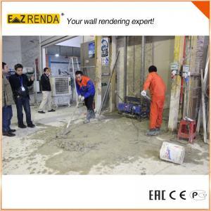 China 砂のセメントは機械自動レンダリング機械 1 コート システムをします on sale