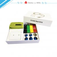 China iPad wireless ECG device with ecg accessories banana 4.0 10 lead cable wholesale