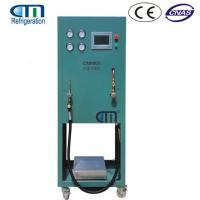 China R134A Refrigerant Charging Machine with High Filling Efficiency 3 Working Station on sale