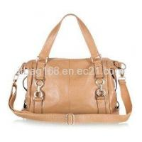 China Fashion Leisure Lady Handbag,First Layer Real Leather Handag on sale