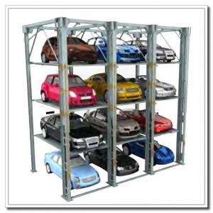 Système triple de stationnement de voiture