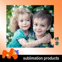 Blue Personalised Jigsaw Puzzle 1000 Pieces , Paper Photos Into Jigsaw Puzzle