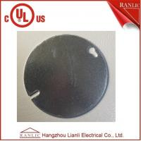 Buy cheap Steel Round Electrical Outlet Covers , 0.80mm to 1.60mm Thickness product