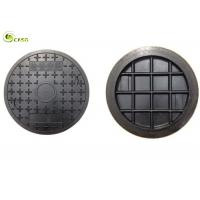 Buy cheap Heavy Cast Iron Manhole Cover Round Composite Well Lid Rain Grate With Frame product