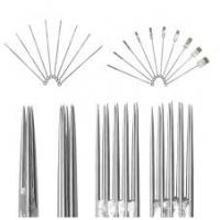 Buy cheap professional and high quality sterile disposable pre-made tattoo shading needle from wholesalers