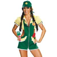 China Green Garden Ho Country Girl Costume Halloween Outfits For Adults on sale