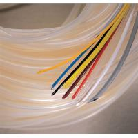 China Flexible White Silicone Rubber Tubing for Automobile Cable Wiring Insulation on sale