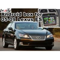 Buy cheap Lexus ES240 ES350 2005-2009 Android Navigation Box mirror link video interface rear view product
