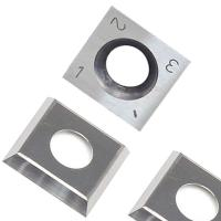 Buy cheap RTing 14mm Square Carbide Inserts Cutter for Wood Working & Turning,(14mm lengthX14mm widthX2.0 thick),Pack of 10 product