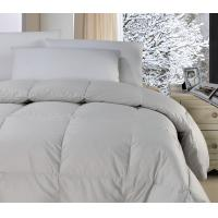 Buy cheap Polyester Fabric White Feather And Down Quilt Downproof  Light Weight Comforter product