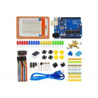 China DIY Science Arduino Starter Kit With UNO R3 Bread Board For Electronic Arduino Project on sale