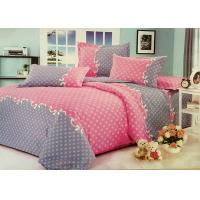 Buy cheap Red and Grey Cotton Bedding Sets with Personalized Pillowcases product