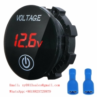 Buy cheap 48V Voltmeter for Motorcycle Car green color product