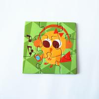 China Waterproof strong fridge magnets Puzzle For Kids Toy on sale