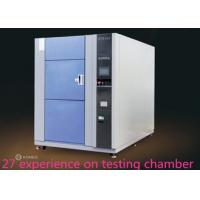 Buy cheap 252L 3 Zone Water Cooled Thermal Shock Chamber Wiht PLC Architecture Controller product