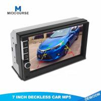 China Universal 2 Din 7inch HD Touch Screen Car MP5 video Player With Bluetooth Phone Radio Stereo FM/ USB/Backup Camera on sale