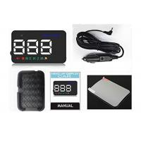 Buy cheap 3.5 Inch A5 Windshield Speedometer Projector , Trucks / Cars Gps Head Up Display Speedometer product