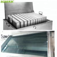 Buy cheap Food industry Cleaning Machine for Oven Tray Pizza Pan with Ultrasonic and Heating System product