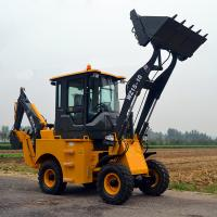 Buy cheap track loader with backhoe with CE/ EPA certification for sale product