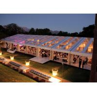 300 seaters transparent marquee wedding tent clear roof fire proof