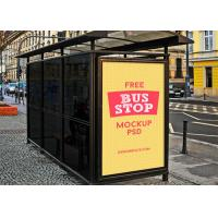 Buy cheap Floor Standing Digital Signage Totem 86 Inches Bus Shelter Advertising product