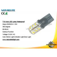 China Customized Auto Led Bulbs IP68 Waterproof Indicator / Auto interior Light on sale