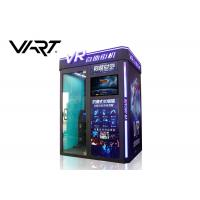 Buy cheap Coin Operated 9D Virtual Reality Simulator VR Arcade Box Easy Management from wholesalers