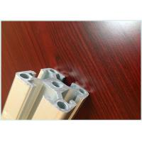 Buy cheap Precise Cutting Custom Aluminum Profile , Machined Aluminium Profiles For Display Cabinets from wholesalers