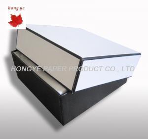 Buy cheap Cajas de empaquetado del perfume blanco decorativo, cajas de papel cosméticas product