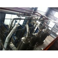 Buy cheap Evapotrative Water Cooled Plate Heat Exchanger Muiltiple Effect Juice Milk Concentration product