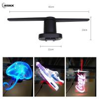 Naked Eye 3D Hologram Wiikii Holographic Projection Device 150° Viewing Angle