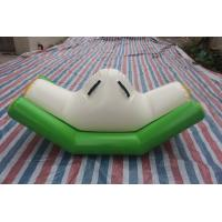 Buy cheap Interesting Airtight Inflatable Water Games Seesaw Water Park  Size 3x1.2m product