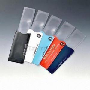 China Pocket Magnifier Sheet, Measuring 100 x 48mm on sale