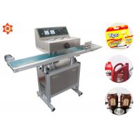 Buy cheap 0 - 12 M/Min Sealing Speed Vertical Sealing Machine Glass Bottle Paper Cup Sealing product