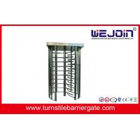 China Full Height Turnstile for pedestrian passing and Compatible With IC, ID,  Magcard, Bar code on sale