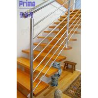 Buy cheap Indoor modern stairs stainless steel railings system product