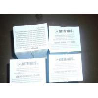 Buy cheap Two Sided Package Insert Printing Paper Leaflet Folding For Pharma Box product