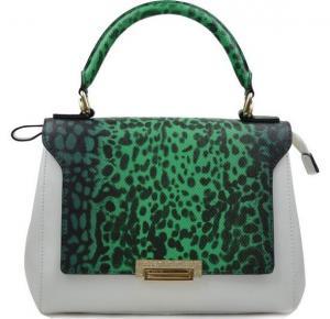 Buy cheap College of fashion wind leather handbag leopard handbag leather bag-132 product