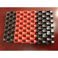 Buy cheap Double Color Anti - Slip PVC Chain Mat In Rolls , Machine Made Pvc Floor Mat product